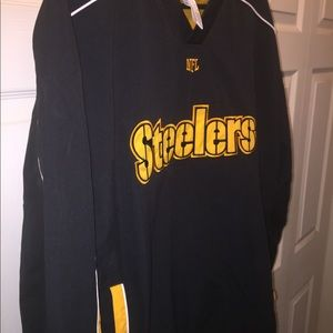 NFL Jackets & Coats - Steelers pull over